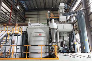 ALD 8000KG VIM stainless superalloy melting Equipment