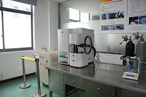 Superalloy testing laboratory:LECO Oxygen-Nitrogen-Hydrogen Detector imported from USA