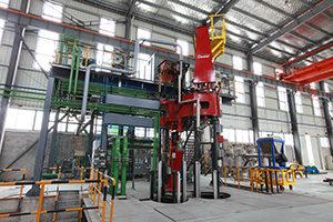 Consarc 6000KG PESR stainless superalloy melting Equipment
