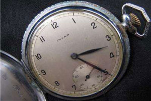 Invar pocket-watch