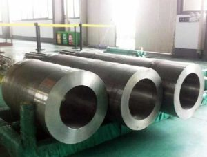 Superalloy element strengthening pipe