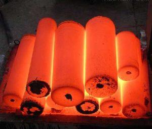 Superalloy element strengthening smelting