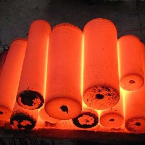 Heat treatment in furnace