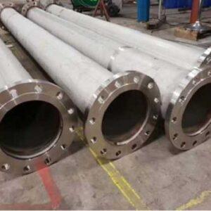 Super alloy tube welding