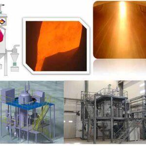 Powder production line