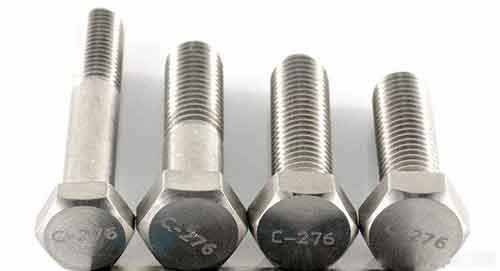 Hastelloy C-276 Alloy Bolts
