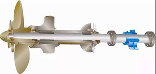 titanium alloy screw propeller