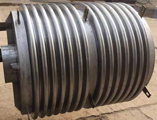 superalloy corrugated expansion joint