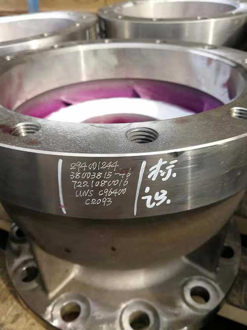 C96400 Valve pipe fittings-a