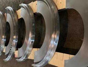 Steam turbine baffle