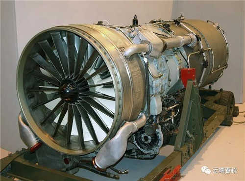 1960s Rolls-Royce Conway turbofan engine