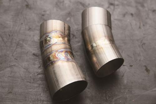 Titanium alloy welding elbow