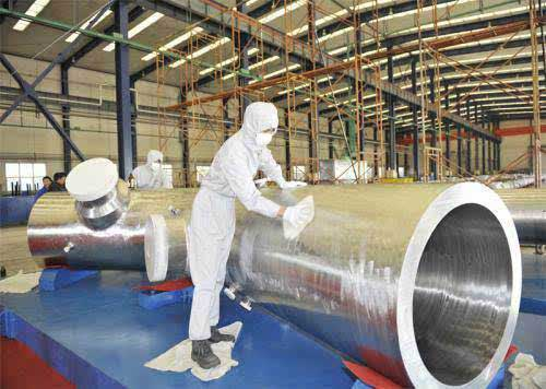 Special Alloy for nuclear power delivery preparation
