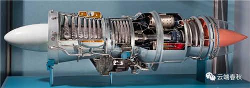Pratt and Whitney J-57 jet-engines