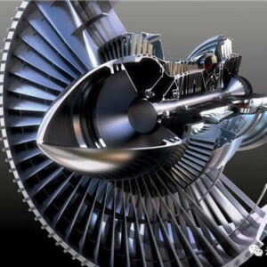aero-engine detail