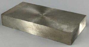 Stellite cobalt-based alloy Forging the ingot