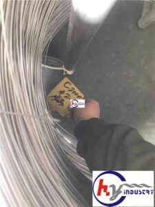 00Cr23Ni59Mo16Cu1.6 Hastelloy C2000 wire coiling
