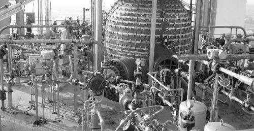 coal water slurry gasification unit:Multi-nozzle opposite type coal water slurry gasification plant