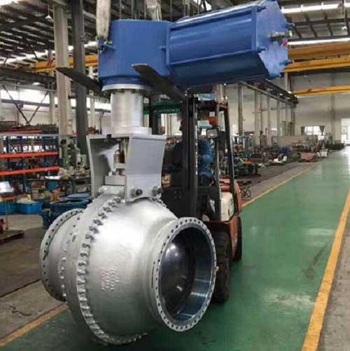 coal water slurry gasification unit:Stainless steel slag locking ball valve