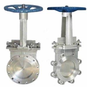 power station gate valve